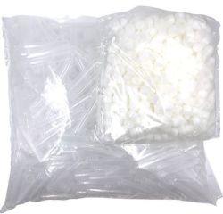 Spermaverzendbuis 13ml met Blanco dop, 500st/zak