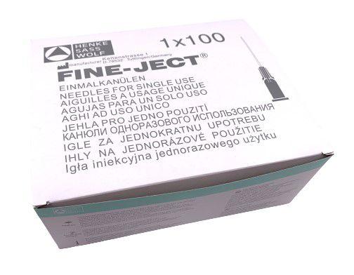 20124 mintgroene wegwerpnaalden 21 x 80mm 14g x 3