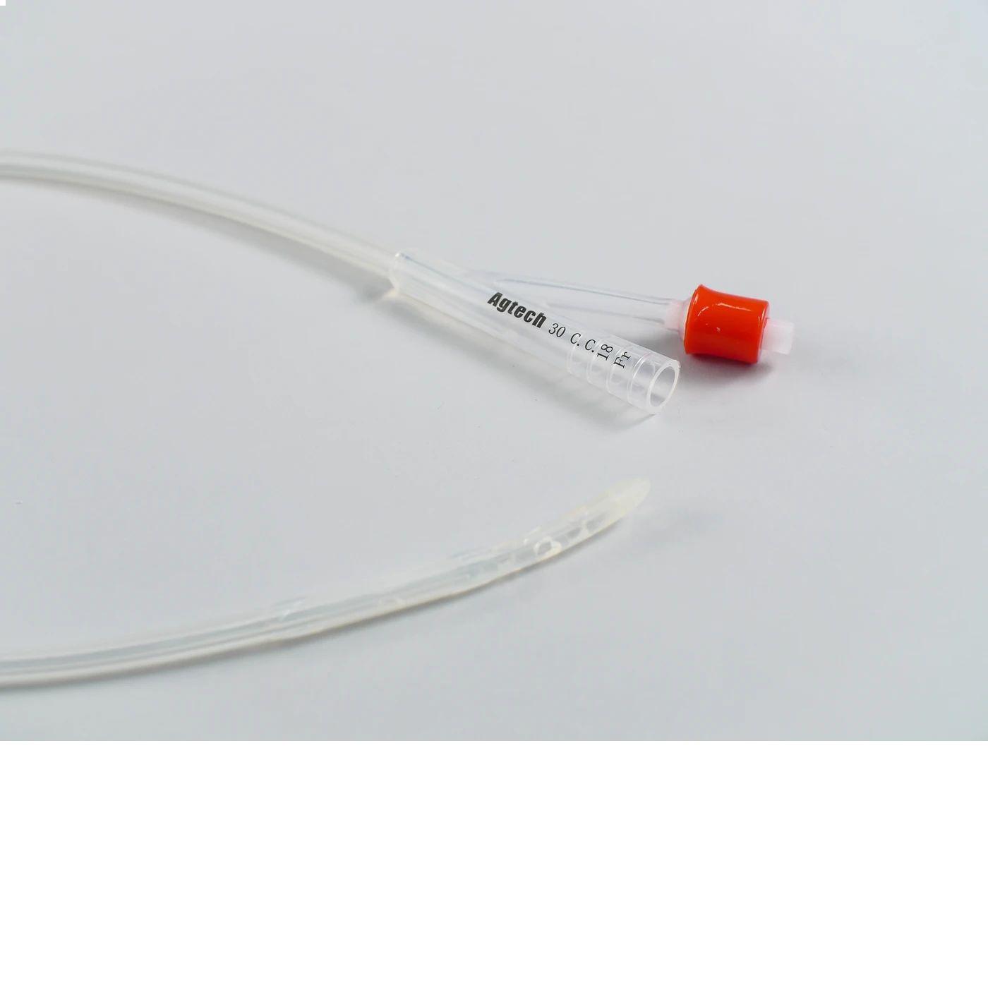 400441 agtech vortech siliconen catheter 18fr met 30cc ballon 23inch rund e103