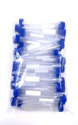 Centrifugetubes 15ml with conical bottom and with graduation 50 per bag