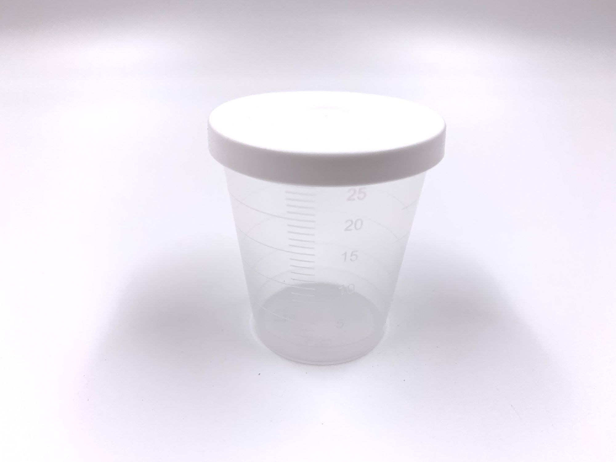 cups with lid for eg nucleo counter per 75pieces