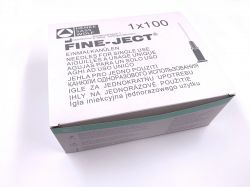 """Mint Green Disposable Needle 2,1 x 80mm, 14G x 3"""" per 100 pieces"""