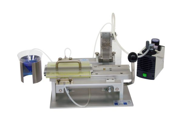 sfs semiautomatic filling and sealingmachine for 05 ml straws