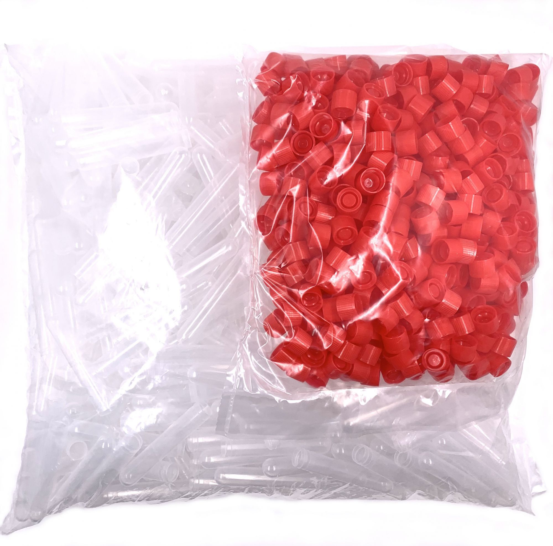 spermaversandrrchen 13ml mit rote kappe 500stbeutel