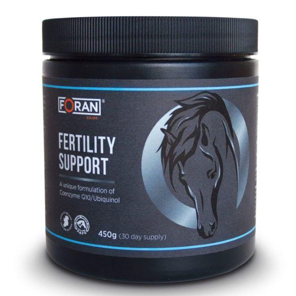 Foran Equine Fertility Support begin er nu mee, voor het dekseizoen!